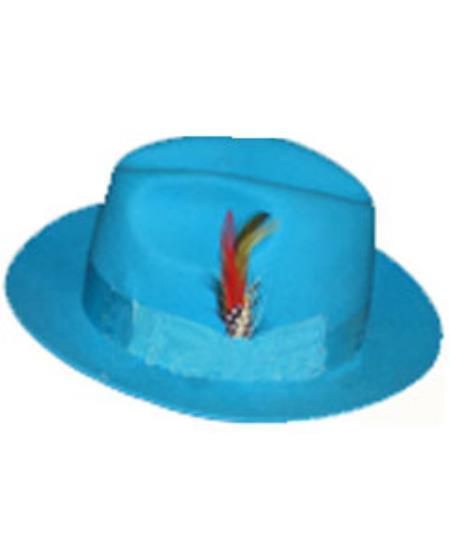 Untouchable Turquoise Hat