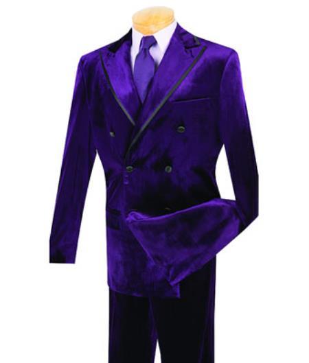 Purple color shade Velvet