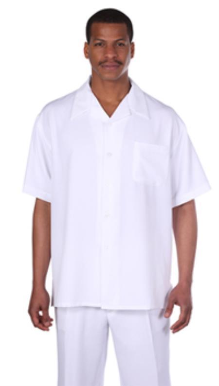 Shirt & Pleated Slacks