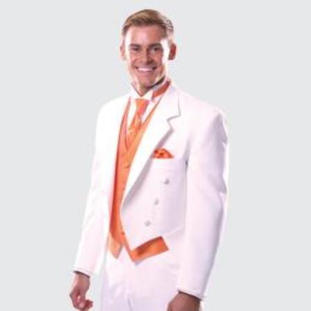 White Notch Full Dress