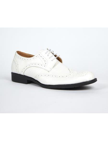 White Dress Shoes