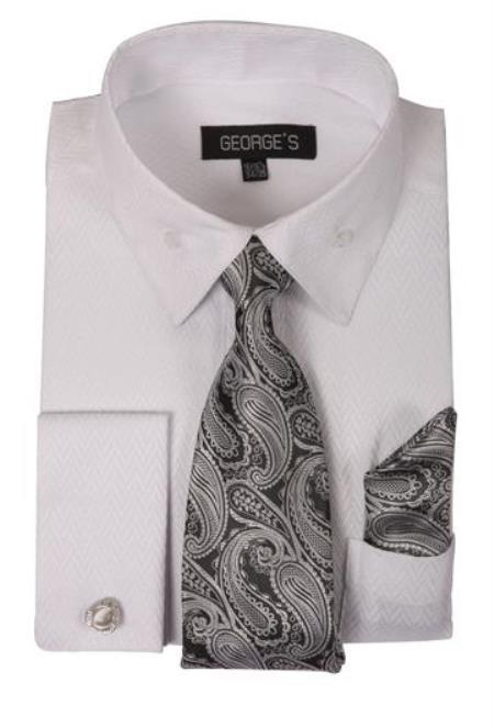 Fashion Dress Shirt Set