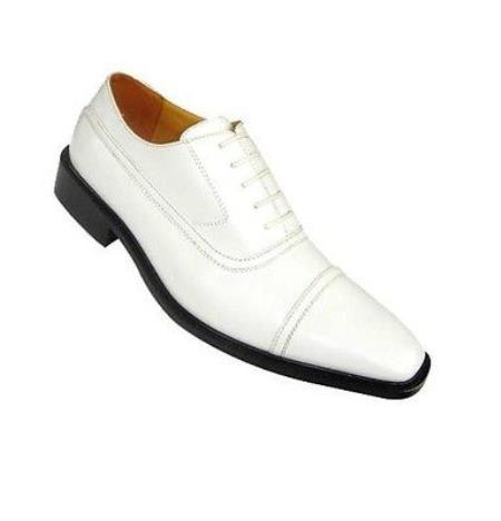 Product#KA8631 High Quality Fashion Dress Shoes for Online White and Liquid Jet Black Colors