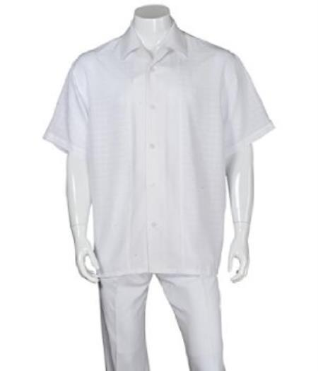Church White Walking Suit