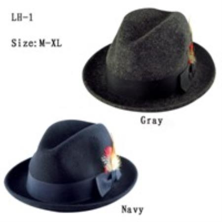 100% Wool Fabric Hat