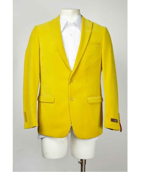 Yellow 2 Button Style