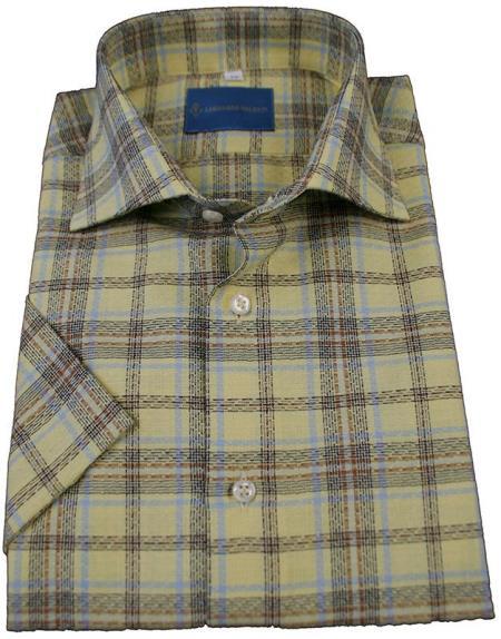 Cotton L/S Shirt Yellow