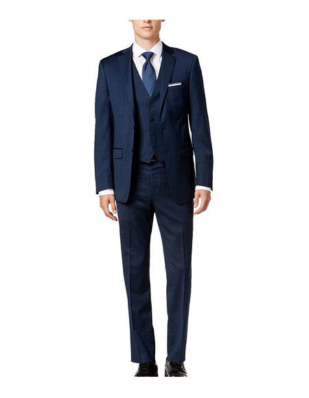 Caravelli Mens 3-Piece Single