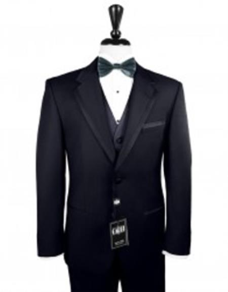 Tuxedo with Satin Framed