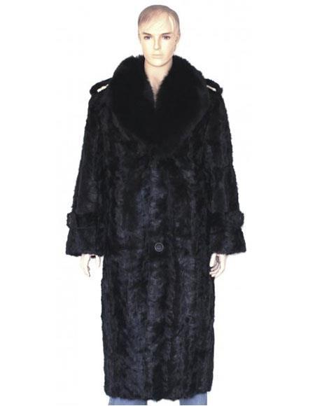 Mens Full Length Fur