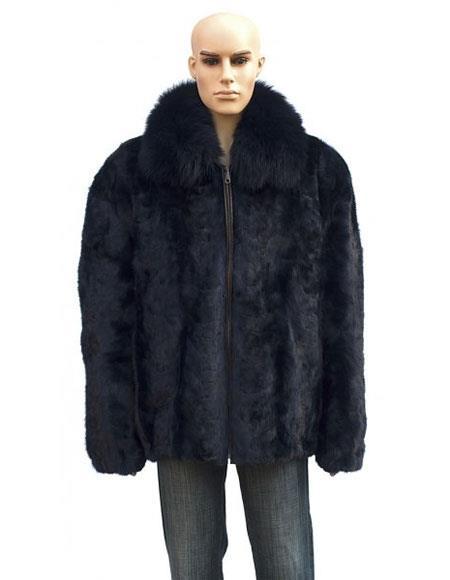 Mens Fur Genuine Mink