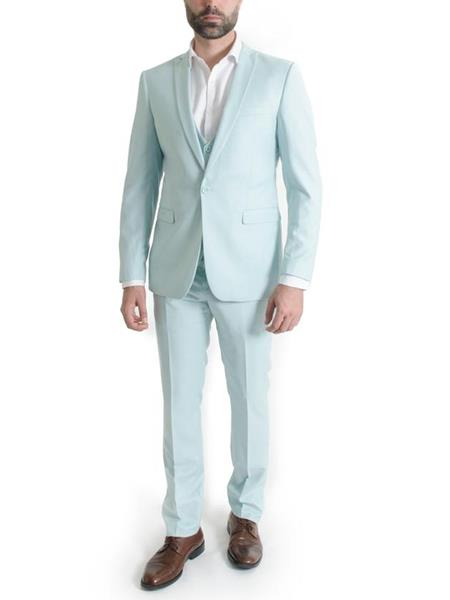 Mens Mint 3 Piece