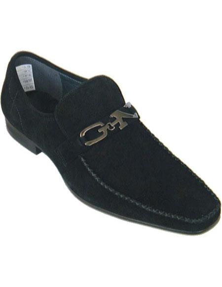 Mens Black Loafers Style