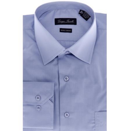 Modern-fit Dress Shirt Blue