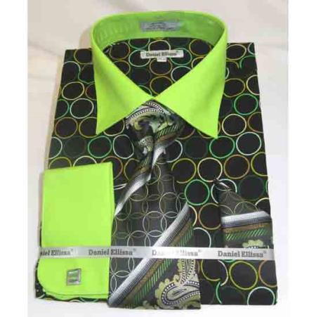 Mens Bold Black Green