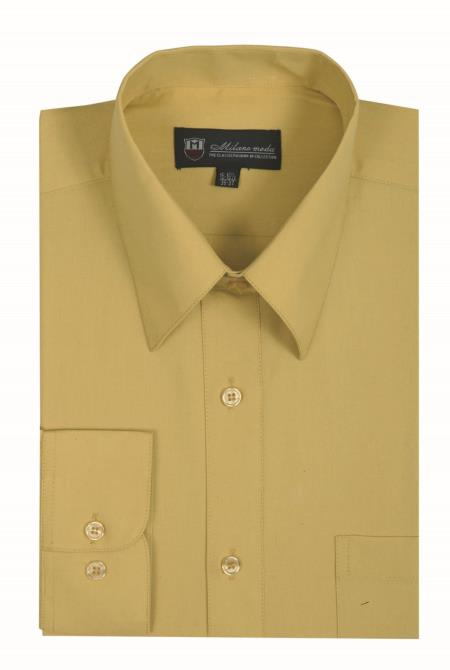Mens Traditional Plain Solid