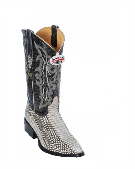 Product#H2A Authentic Los altos Natural Cobra Cowboy boots
