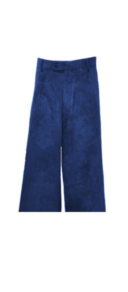Corduroy Navy Blue Pants