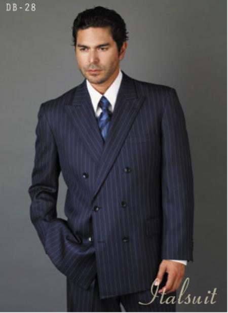 Navy Blue Shade Suit