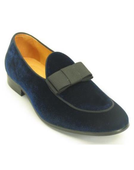 Mens Navy Fashionable Carrucci