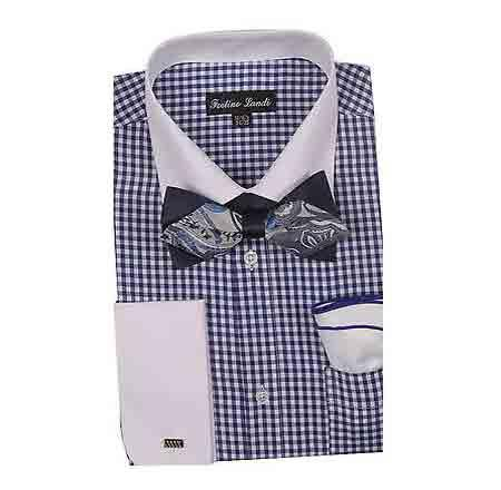 Shirt With Bow Tie