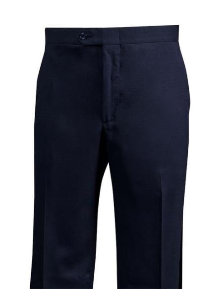 Mens  Navy Wool