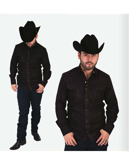 Mens High Collar Fashion
