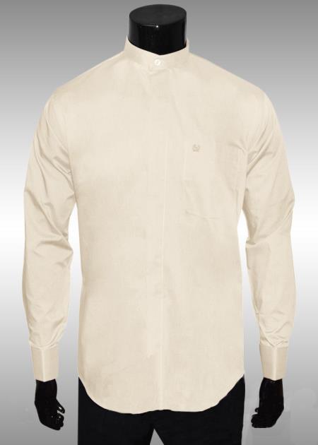 Nehru Collar Dress Shirt