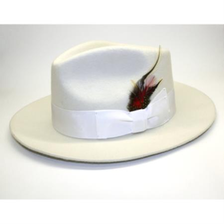 Off White Fedora suit