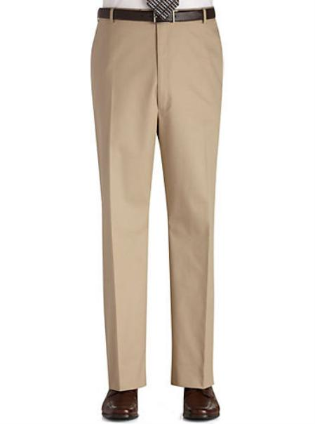Product# KA7789 Flat Front Regular Rise Slacks