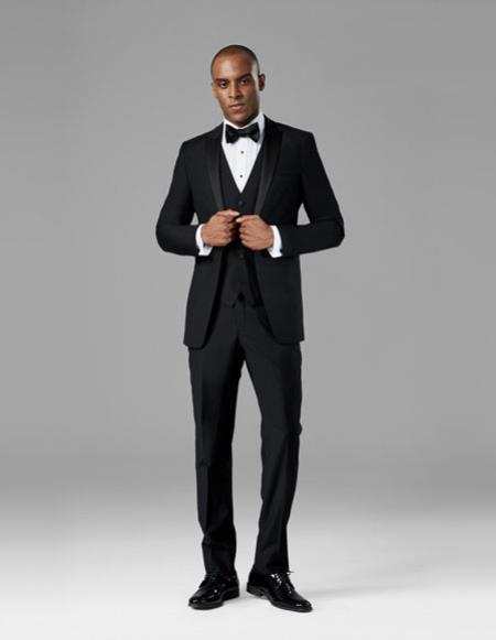 Mens Black best Suit