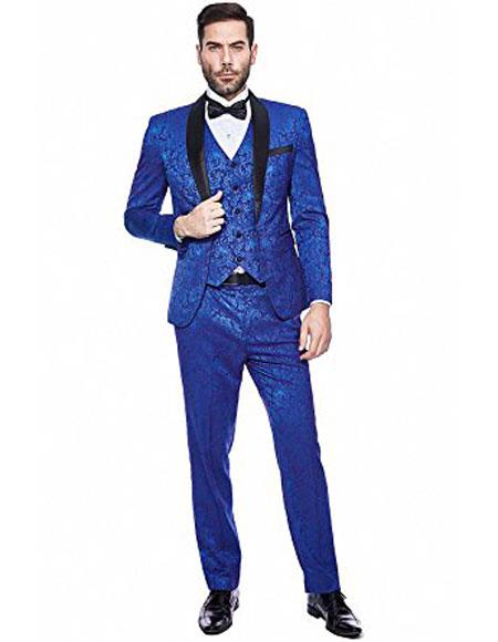 Mens 3-pieces slim fit