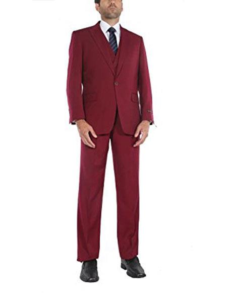 Mens 1 button suits