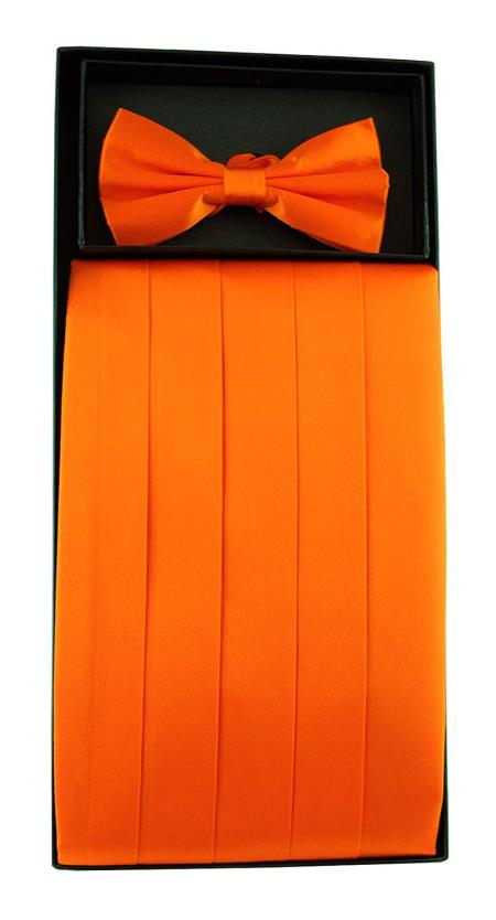 Mens Solid Orange 100%