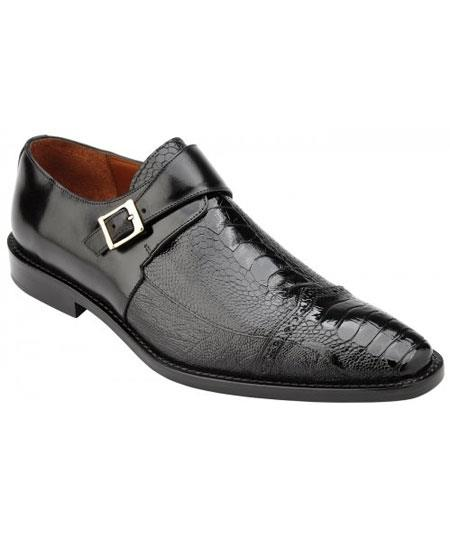 Mens Monk Strap Genuine