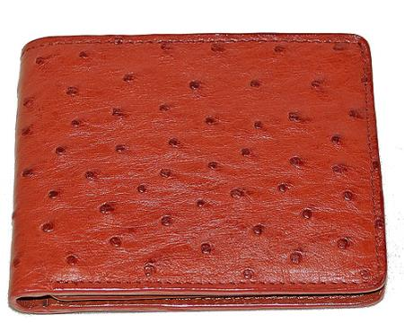 Product# AVV2 Wallet ~ billetera ~ CARTERAS Ostrich Wallet Rust