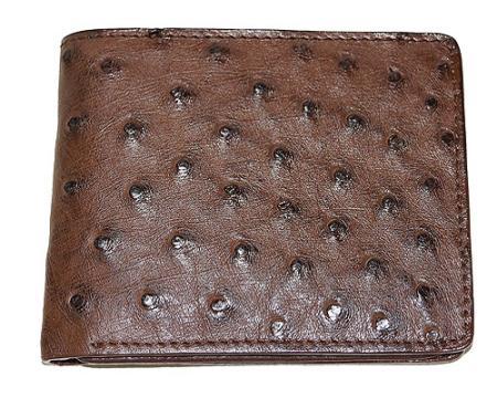 Product# XKK8 Wallet ~ billetera ~ CARTERAS Ostrich Wallet Tabac