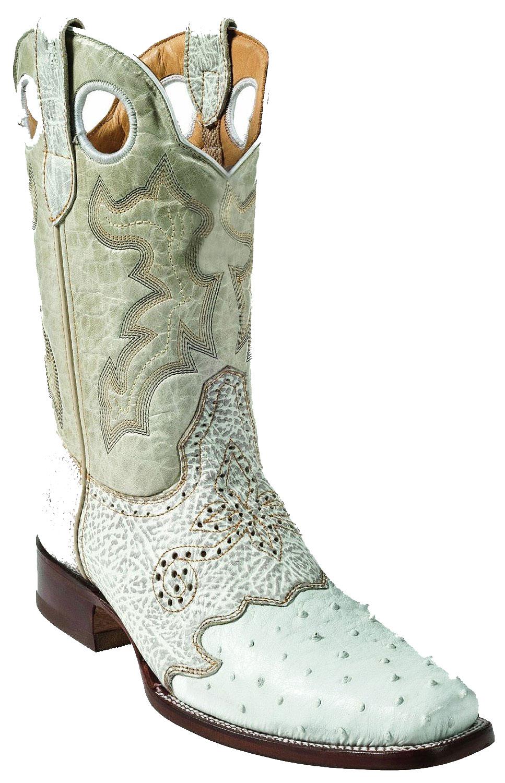 Ostrich Leg Skin Western