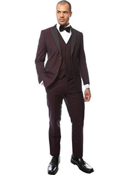 Mens Peak Lapel Two