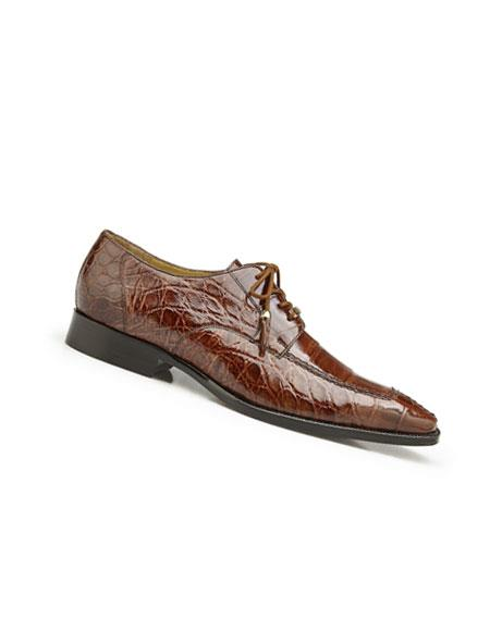 Mens Genuine Alligator Peanut