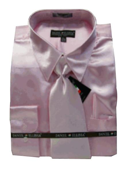 New Light Pink Satin