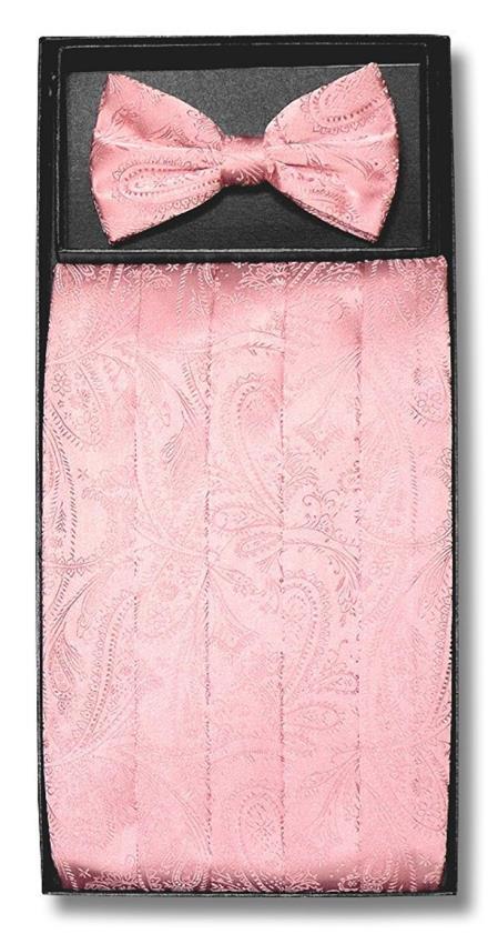 Mens Paisley Design Pink