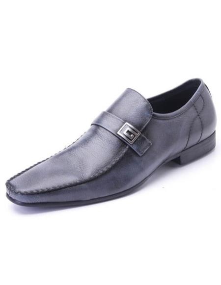 Mens slip-on style plain
