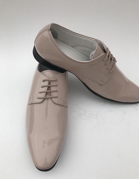 Mens Plain Toe Lace