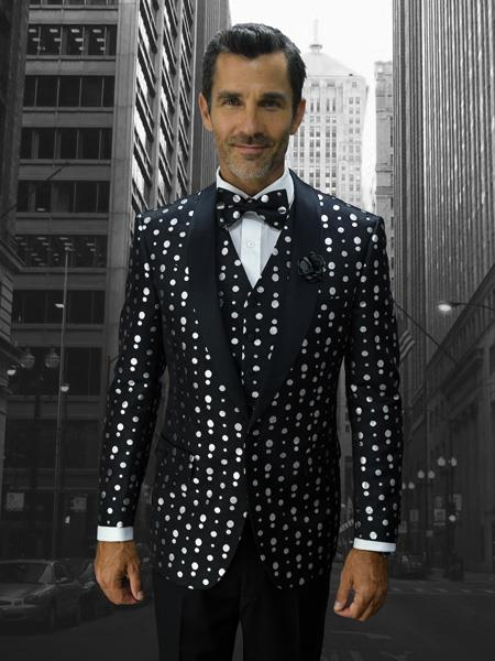 Mens Polka dots Designed