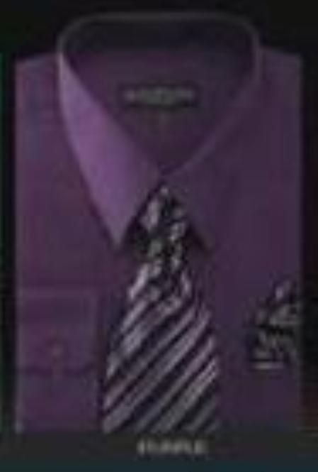 Conservative Style Dark Purple