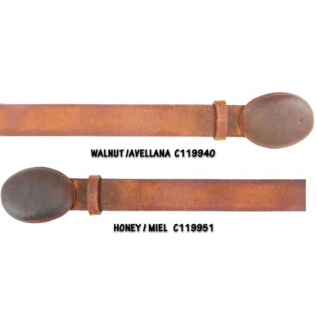 Rage Cowhide Belt Walnut