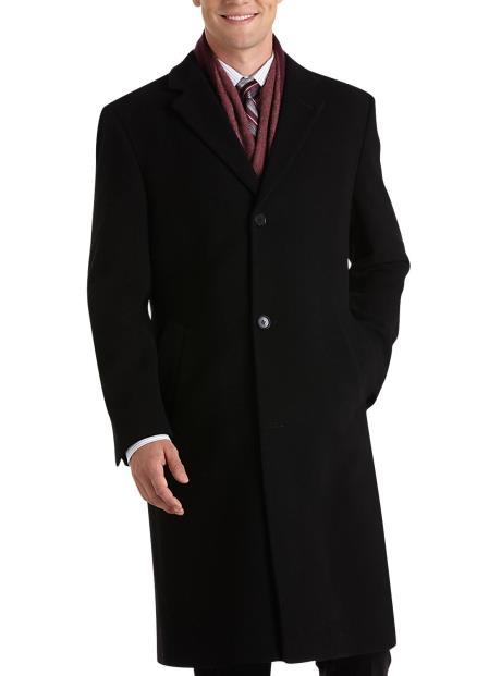 Designer Brand Mens Topcoat