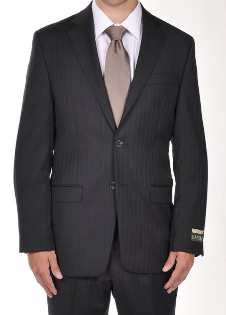 Product# PN90 Ralph Lauren Navy Pinstripe Dress Suit