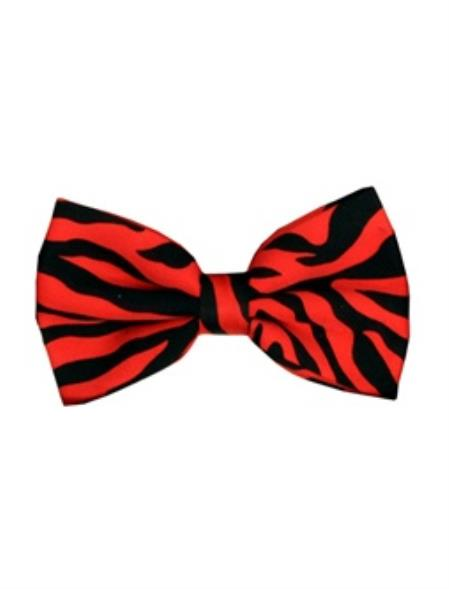 Red and Black Mens